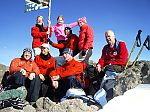 8 climbers gained money for WF by climbing the Mount Meru